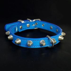 アウトレット0335a:2cm幅の中型犬用革首輪(38cm)|extraheavyy