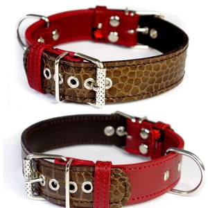 アウトレット0453:3cm幅の中型犬用首輪(40cm)|extraheavyy
