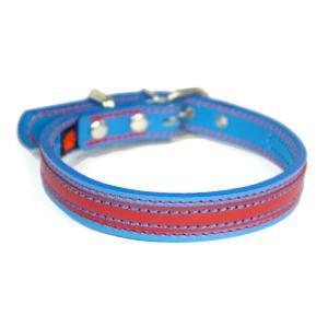 アウトレット0121:2cm幅の中型犬用革首輪(37cm)|extraheavyy