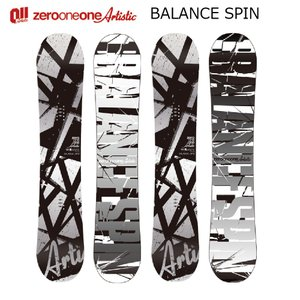 予約商品 5大特典付 19 011 Artistic BLANCE SPIN メンズ 5サイズ ダブルキャンバー 19Snow スノーボード|extreme-ex