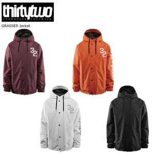 19 ThirtyTwo 32 GRASSER Jacket サーティー トゥー グラッサー ジャケット スノーボードウエア 18-19 2018 19Snow|extreme-ex