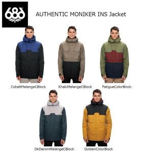18 686 AUTHENTIC MONIKER INS Jacket 5カラー シックスエイトシックス オーセンティック モニカ― ジャケット 17-18 2017-18|extreme-ex