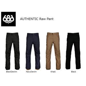 18 686 AUTHENTIC RAW INS Pant 4カラー シックスエイトシックスオーセンティック  ロウ パンツ 17-18 2017-18|extreme-ex