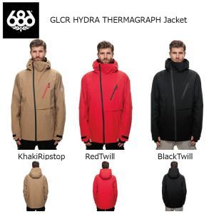 18 686 GLCR HYDRA THERMAGRAPH Jacket 3カラー シックスエイトシックス 17-18 2017-18|extreme-ex