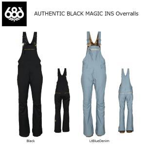 18 686 W AUTHENTIC BLACK MAGIC INS Pant BIB 2カラー オーセンティック シックスエイトシックス ウーマンズ ブラックマジック パンツ 17-18 2017-18|extreme-ex