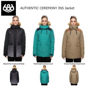 18 686 W AUTHENTIC CEREMONY INS Jacket 3カラー オーセンティック シックスエイトシックス ウーマンズ セレモニー ジャケット 17-18 2017-18|extreme-ex