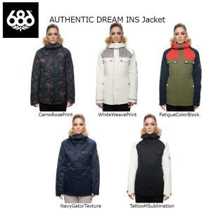 18 686 W AUTHENTIC DREAM INS Jacket 5カラー オーセンティック シックスエイトシックス ウーマンズ ドリーム ジャケット 17-18 2017-18|extreme-ex