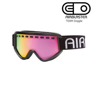 19 AIRBLASTER TEAM Air Goggle Black/RedAirRadium エアブラスター ゴーグル 2018-19 19Snow|extreme-ex