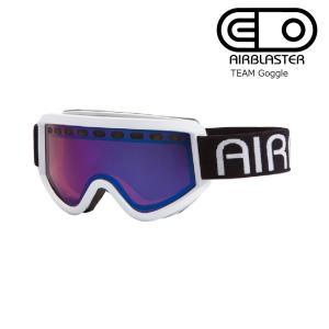 19 AIRBLASTER TEAM Air Goggle White/RoseBlueChrom エアブラスター ゴーグル 2018-19 19Snow|extreme-ex