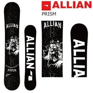 予約商品 5大特典付 19 ALLIAN PRISM 3サイズ アライアン プリズム スノーボード 板 キャンバー ツイン|extreme-ex
