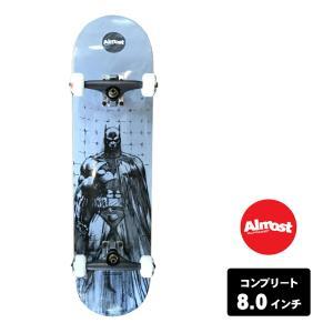 ALMOST スケートボード デッキ コンプリート セット 8.0インチ 【 BATMAN JIM LEE WHITE 】 スケボー オールモスト|extreme-ex