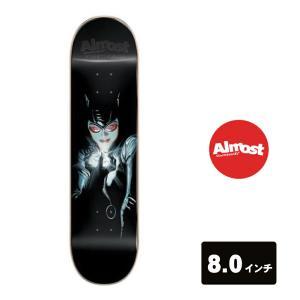 ALMOST DECK スケートボード デッキ 8インチ【 Youness Catwoman IMPACT LIGHT 】 スケボー オールモスト SKATEBOARD|extreme-ex