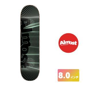 ALMOST スケートボード デッキ 8インチ【 DAEWON IMPACT UNOWN IMPACT LIGHT 】 スケボー オールモスト SKATEBOARD|extreme-ex