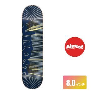 ALMOST DECK スケートボード デッキ 8インチ【 Yuri Impact Unknown Impact Support 】 スケボー オールモスト SKATEBOARD|extreme-ex