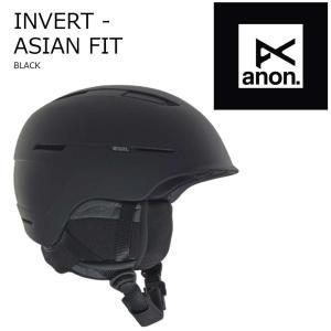 送料無料 19 ANON Helmet INVERT アノン ヘルメット インバート ボードヘルメット 18-19 2018-19 19Snow|extreme-ex