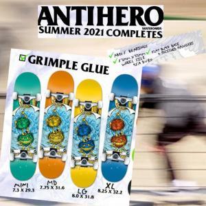 ANTIHERO スケートボード コンプリート セット【ANTIHERO GRIMPLE GLUE】スケボー アンチヒーロー デッキ extreme-ex