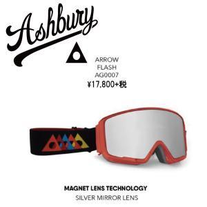 19 ASHBURY Goggle ARROW FLASH アシュベリー アロー ゴーグル 18-19 2018-19|extreme-ex