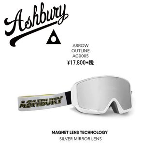 19 ASHBURY Goggle ARROW OUTLINE アシュベリー アロー ゴーグル 18-19 2018-19|extreme-ex