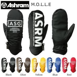 18 ASHRAM M.O.L.L.E MITT GORE-TEX 5カラー アシュラム モッレ ゴアエックス スノーグローブ 17-18 ミトン 17-18 2017-18|extreme-ex