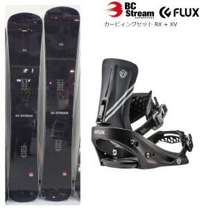 19 BC-STREAM RX + FLUX XV ボード 164cm 174cm ビーシーストリーム フラックス エックスブイ レース/テクニカル オールマウンテン 19Snow|extreme-ex