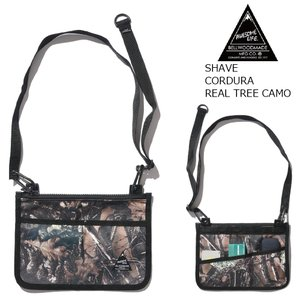 BELLWOOD MADE MFG.co SHAVE Cordura Real Tree Camo サコッシュ オウサムライフ ベルウッドメイド AWESAME LIFE|extreme-ex