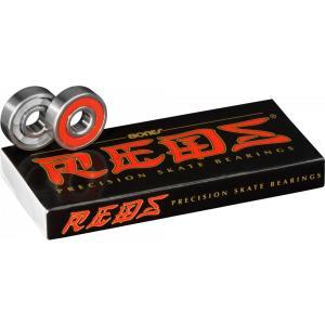 BONES Bearing スケートボード ベアリング 【 REDS  (8 PACK) 】 スケボー ボーンズ ポスト投函可(メール便) extreme-ex