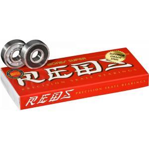 BONES Bearing スケートボード ベアリング 【 SUPER REDS  (8 PACK) 】 スケボー ボーンズ ポスト投函可(メール便) extreme-ex