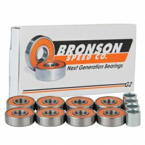 BRONSON Bearing スケートボード ベアリング 【 G2 bearings (8個入り) 】 スケボー ブロンソン ポスト投函(メール便) extreme-ex