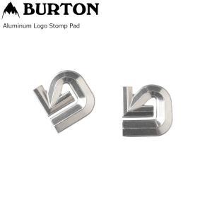 BURTON ALUMINUM LOGO MATS Silver デッキパット バートン アルミニウム ロゴ マット ポスト投函(メール便)|extreme-ex