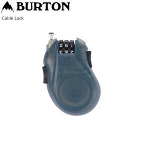 BURTON CABLE LOCK Black カギ キーロック バートン ケーブルロック カギ|extreme-ex