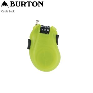 BURTON CABLE LOCK Lime カギ キーロック バートン ケーブルロック カギ|extreme-ex