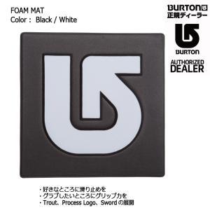 BURTON FOAM MAT Black/White デッキパット スノーボード バートン フォームマット ポスト投函(メール便)|extreme-ex