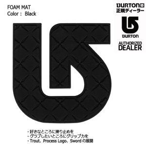 BURTON FOAM MAT Black デッキパット スノーボード バートン バートン フォームマット ポスト投函(メール便)|extreme-ex