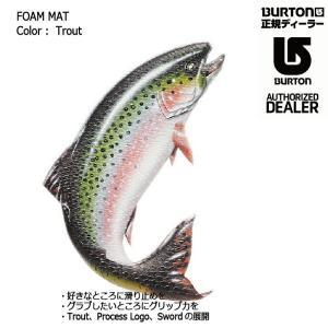 BURTON FOAM MAT Brushie Fish デッキパット スノーボード バートン バートン フォームマット ポスト投函(メール便)|extreme-ex
