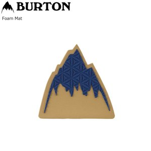 BURTON FOAM MAT Mountain Logo デッキパット スノーボード バートン バートン フォームマット ポスト投函(メール便)|extreme-ex
