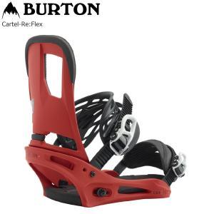 19 BURTON バートン CARTEL カーテル Re:Flex リフレックス BINDING ビンディング Red (4点留め、2点留め) 19Snow スノーボード バイン|extreme-ex