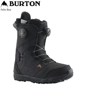 19 BURTON FELIX BOA Black (W) バートン フェリックス ボア 19Snow スノーボードブーツ 18-19|extreme-ex