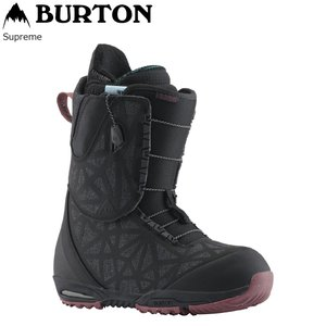 19 BURTON SUPREME Black ASIAN FIT (W) バートン サプリーム アジアンフィット 19Snow|extreme-ex