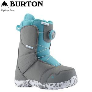 19 BURTON ZIP LINE BOA Gray/SurfBlue (Y) バートン ジップライン ボア 19Snow|extreme-ex