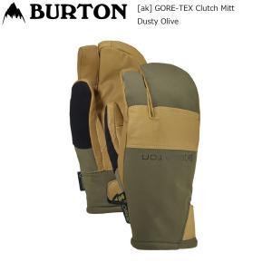 19 Burton [ak] GORE-TEX Clutch Mitt Dusty Olive バートン エーケー クラッチ ゴアテックス ミトン スノーグローブ extreme-ex