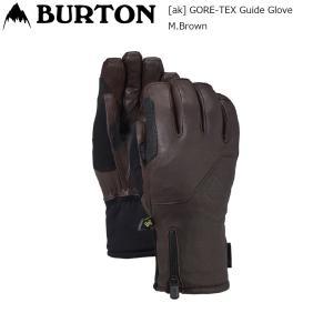 19 Burton [ak] GORE-TEX Guide Glove M.Brown バートン エーケー ガイド ゴアテックス レザー スノーグローブ extreme-ex