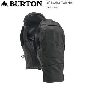 19 Burton [ak] Leather Tech Mitt T.Black バートン エーケー レザーテック ミトン スノーグローブ extreme-ex