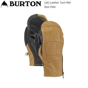 19 Burton [ak] Leather Tech Mitt RawHide バートン エーケー レザーテック ミトン スノーグローブ extreme-ex