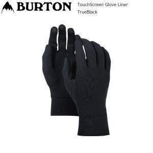 19 Burton TouchScreen Glove Liner T.Black バートン タッチスクリーン インナーグローブ スノーグローブ extreme-ex