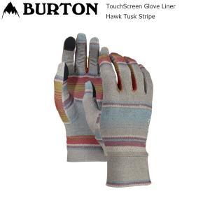 19 Burton TouchScreen Glove Liner HawkTuskStripe バートン タッチスクリーン インナーグローブ スノーグローブ extreme-ex