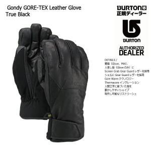 18 BURTON GONDY GORE-TEX LEATHER GLOVE 3カラー バートン エーケー ゴンディー ゴアテックス レザー グローブ スノーグローブ 17-18 2017|extreme-ex