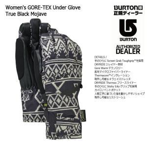 18 BURTON W GOTE-TEX UNDER GLOVE 2カラー バートン レディース ゴアテックス アンダー グローブ スノーグローブ 17-182017 2017-18|extreme-ex