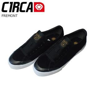 C1RCA 17SP FREMONT Black/HarvestGold サーカ スケートシューズ フレモント|extreme-ex