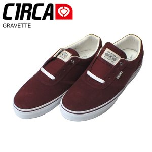 C1RCA 17SP GRAVETTE Brick/White サーカ スケートシューズ デヴィッド グラヴェット|extreme-ex