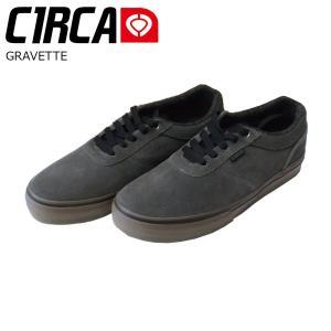 C1RCA 17SP GRAVETTE Gunmetal/Gum サーカ スケートシューズ デヴィッド グラヴェット|extreme-ex